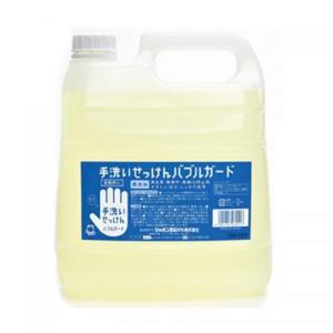 シャボン玉石けん バブルガード 業務用 4L|shabon