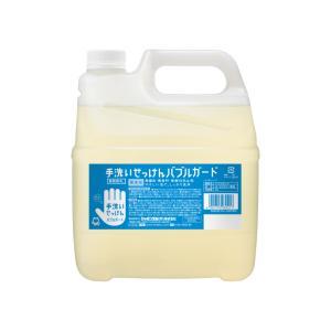 シャボン玉石けん 手洗いせっけん バブルガード(つめかえ用) 4L 手洗いせっけん・ハンドソープ|shabondamasoap