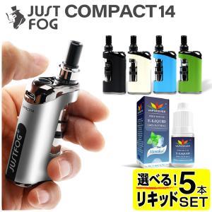 【リキッド5本付】JUSTFOG Q14 電子タバコ VAPE ベイプ ジャストフォグ スターターキ...