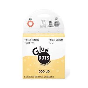 [GlueDots] グルードッツ ポップアップ(直径12.7mm・厚み3mm・75粒) {GD-12296}|shalala-mart