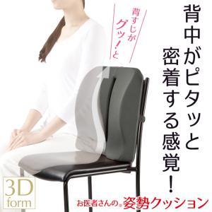 クッション アルファックス お医者さんの姿勢クッション 背中と腰をサポート 姿勢矯正 健康グッズ|shalom-shop