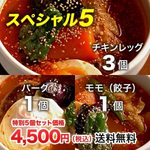 【期間限定】北海道札幌発祥のSHANTi(シャンティ)オリジナルスープカレーの期間限定スペシャル5個セット<辛さ選べる2〜10ボーガ>|shanticurry