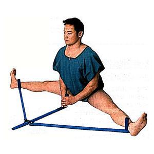 全てのスポーツに欠かせない、股関節の柔軟性。手軽に簡単に出来る股割り。毎日少しずつ引っ張り強度をあげ...