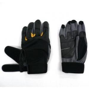 スタンダード型のウエイトトレーニング用グローブです。 手の平の食い込み防止パッドは、各グローブの中で...