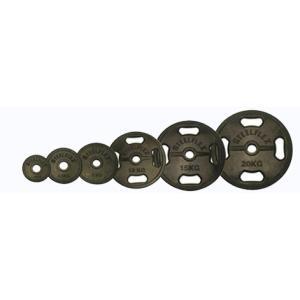(オリンピックプレート)「スチールフレックス バーベルプレート」STEELFLEX 10kgラバーバーベルプレート 50mm孔径