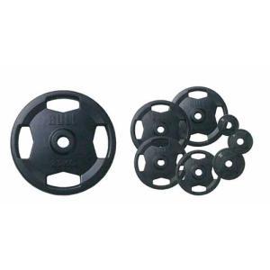 (ポイント5倍!12/1(金)ー12/10(日)まで)(バーベルプレート 20kg)BULL Φ50mmラバープレート20kg(2枚1組) BL-RP20
