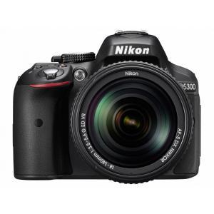 デジタル一眼カメラ Nikon D5300 18-55 VR レンズキット [ブラック][新品即納]