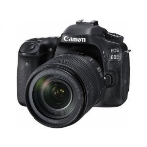 デジタル一眼カメラ Canon EOS 80D EF-S18...