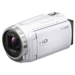 ビデオカメラ SONY HDR-CX680 (W) [ホワイ...