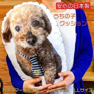 ペット メモリアル オーダーメイド クッション 大きめ 抱っこ 愛犬の写真で 愛猫の写真で 大切なペットの写真で 家族写真 想い出 プレゼントに最適
