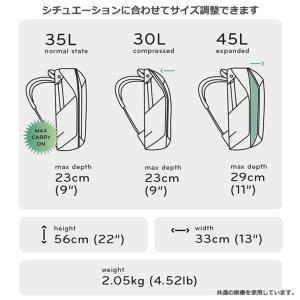 ピークデザイン BTR-45-BK-1 トラベルバックパック45L ブラック 【送料無料】 【即納】|shasinyasan|07