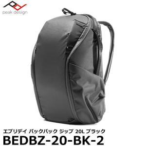 ピークデザイン BEDBZ-20-BK-2 エブリデイ バックパック ジップ 20L ブラック 【送...
