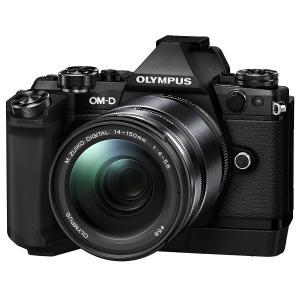 オリンパス OM-D E-M5 Mark II 14-150mm II レンズキット ブラック 【送料無料】|shasinyasan