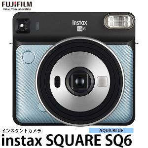 《キャッシュバック対象》 フジフイルム インスタントカメラ instax SQUARE SQ6 アクアブルー 【送料無料】|shasinyasan