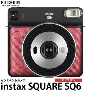 《キャッシュバック対象》 フジフイルム インスタントカメラ instax SQUARE SQ6 ルビーレッド 【送料無料】|shasinyasan