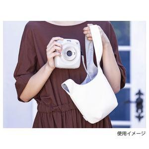 【メール便 送料無料】 フジフイルム instaxカメラバッグ アイボリー|shasinyasan|04