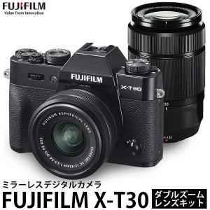 フジフイルム FUJIFILM X-T30 ダブルズームレンズキット ブラック 【送料無料】|shasinyasan