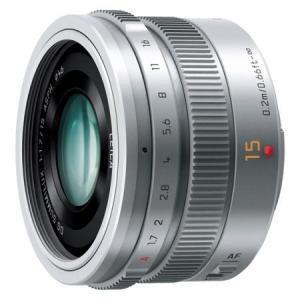 パナソニック H-X015-S LEICA DG SUMMILUX 15mm F1.7 ASPH. シルバー 【送料無料】|shasinyasan