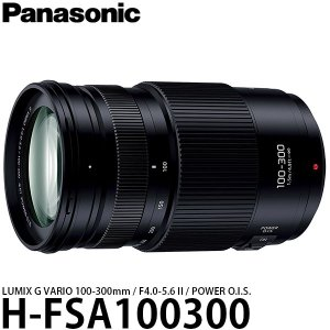 パナソニック H-FSA100300 LUMIX G VARIO 100−300mm F4.0-5.6 II POWER O.I.S. 【送料無料】