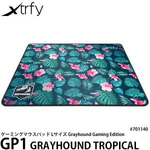 Xtrfy GP1 GRAYHOUND TROPICAL LARGE ゲーミングマウスパッド ハイス...