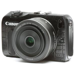《限定特価》【メール便 送料無料】 ジャパンホビーツール Canon EOS M用張り革キット 8010 クロコダイルブラック 【即納】 【dscs】|shasinyasan