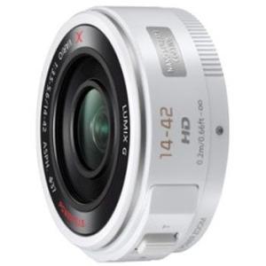パナソニック H-PS14042-W LUMIX G X VARIO PZ 14-42mm/F3.5-5.6 ASPH./ POWER O.I.S. ホワイト