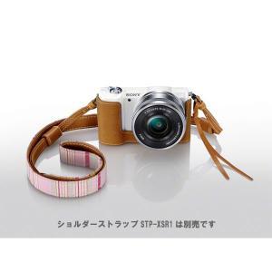 ソニー LCS-EBD T ボディケース ブラウン [SONY α5100/ α5000対応] 【即納】|shasinyasan