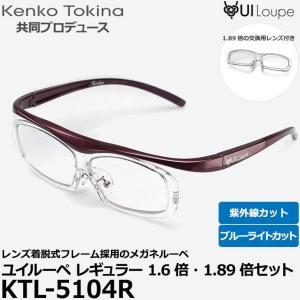 ケンコー・トキナー KTL-5104R ユイルーペ レギュラーサイズパープル 1.6倍・1.89倍セット 【送料無料】|shasinyasan