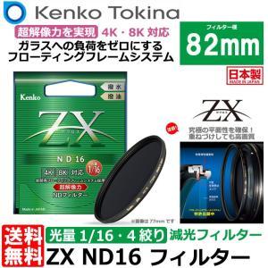【メール便 送料無料】 ケンコー・トキナー 82S ZX ND16 82mm NDフィルター