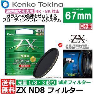 【メール便 送料無料】 ケンコー・トキナー 67S ZX ND8 67mm NDフィルター