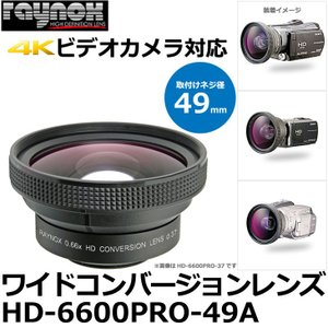 レイノックス HD-6600PRO-49A ワイド(広角)コンバージョンレンズ 0.66倍 カメラフィルター径49mm用 【送料無料】 【即納】|shasinyasan