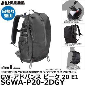 ハクバ SGWA-P20-2DGY GW-アドバンス ピーク 20 E1 カメラバックパック ダークグレー 【送料無料】|shasinyasan