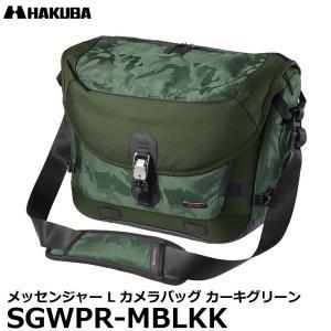 ハクバ SGWPR-MBLKK GW-PRO RED メッセンジャー L カメラバッグ カーキグリーン 【送料無料】 shasinyasan