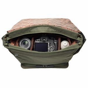 ハクバ SLX-PLMSOV LUXXe(ラグゼ) ポリゴン メッセンジャー カメラバッグ オリーブ 【送料無料】 shasinyasan 02