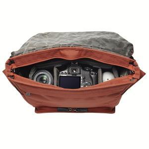 ハクバ SLX-PLMSTC LUXXe(ラグゼ) ポリゴン メッセンジャー カメラバッグ テラコッタ 【送料無料】|shasinyasan|02