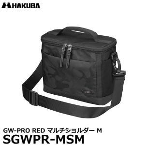 ハクバ SGWPR-MSM GW-PRO RED マルチショルダー M カメラバッグ ブラック 【送料無料】|shasinyasan