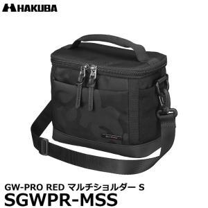 ハクバ SGWPR-MSS GW-PRO RED マルチショルダー S カメラバッグ ブラック 【送料無料】|shasinyasan