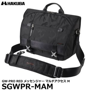 ハクバ SGWPR-MAM GW-PRO RED メッセンジャー マルチアクセス M カメラバッグ ブラック 【送料無料】 shasinyasan