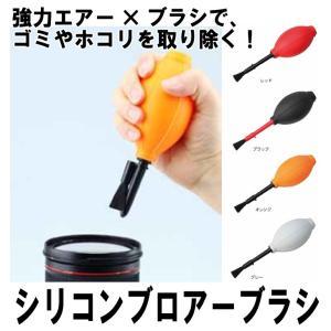 ハクバ KMC-60OR シリコンブロアーブラシ オレンジ 【送料無料】