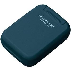 【メール便 送料無料】 ハクバ DMC-20SSDBL ポータブルメディアケース S SD/microSDカード用 スチールブルー 【即納】|shasinyasan