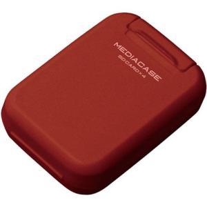 【メール便 送料無料】 ハクバ DMC-20SSDRD ポータブルメディアケース S SD/microSDカード用 ダークレッド 【即納】|shasinyasan