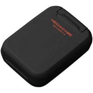【メール便 送料無料】 ハクバ DMC-20SSDBK ポータブルメディアケース S SD/microSDカード用 ブラック 【即納】|shasinyasan