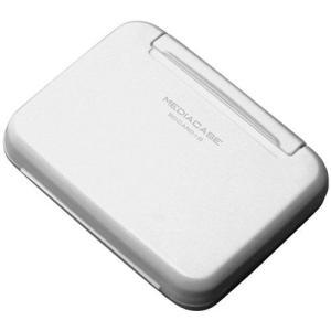 【メール便 送料無料】 ハクバ DMC-20WSDWT ポータブルメディアケース W SD/MicroSDカード用 ホワイト 【即納】|shasinyasan
