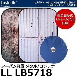 《新品アウトレット》 Lastolite LL LB5718 アーバン背景 折畳式 1.5×2.1m メタル/コンテナ 【送料無料】|shasinyasan