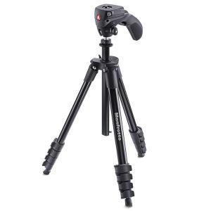 写真も動画もこれ1台!運動会や発表会にもおすすめの一眼レフ対応カメラ三脚  ジョイスティック型ハンド...