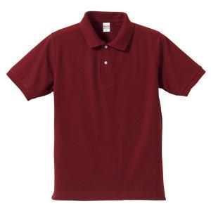 ポロシャツ メンズ レディース 半袖 シャツ ブランド ドライ 無地 大きい 小さい UVカット スポーツ 鹿の子 男 女 消臭 速乾 xs s m l 2l 3l 4l 5l 赤 ワイン|shatti