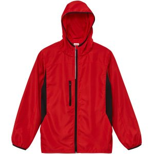 ジャケット メンズ レディース 赤 レッド s m l xl xxl 2l 3l フード ブルゾン ジャンパー アウター おしゃれ 大きい ユニセックス 防寒 あったか 軽量 軽い|shatti