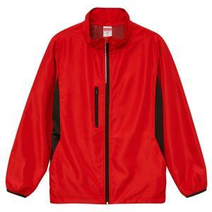 ジャケット メンズ レディース 赤 レッド s m l xl xxl 2l 3l スタンド ブルゾン ジャンパー アウター おしゃれ 大きい ユニセックス 防寒 あったか 軽い 暖|shatti