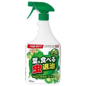 (まとめ)アース製薬 アースガーデンT 1000ML 葉を食べる虫退治 〔×3点セット〕