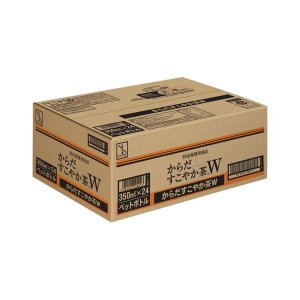 【商品名】 コカ・コーラ からだすこやか茶W 350ml PET 24本 15199 【ジャンル・特...